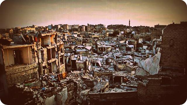 Kota Aleppo, Suriah Butuh Akses Keluar