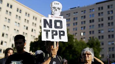 Protesta contra el TPPReuters