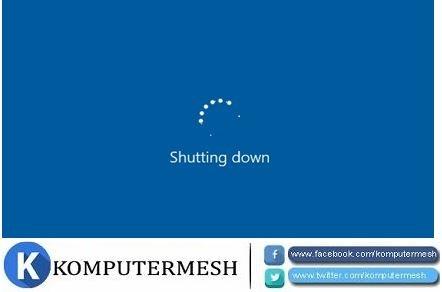 Cara Mengatasi Tidak Bisa Shutdown Windows 10