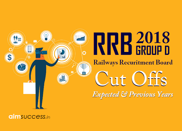 Railways RRB Group D Cut Offs 2018 - Expected & Previous Years