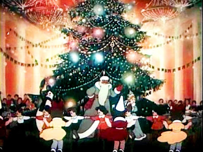 """""""Когда зажигаются ёлки""""  1950 г.  реж. Мстислав Пащенко"""
