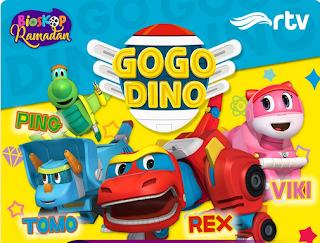 Go go Dino Bahasa Indonesia