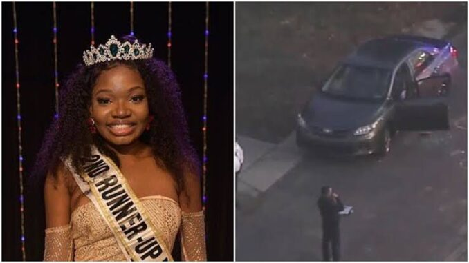 UNBELIEVABLE!!! How Nigerian Beauty Queen Murdered In Her Car In America