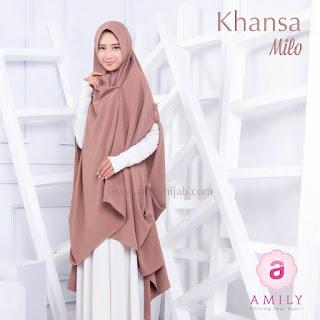 Hijab Amily Khimar Khansa Milo