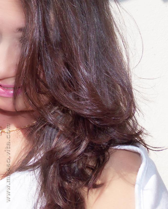 Minda, cabelos
