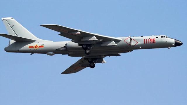 Simulacros de ataques a Guam por cazas chinos alertan a EEUU