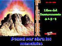 Resultado de imagen para Moisés habló al pueblo, diciendo: - «Ahora, Israel, escucha los mandatos y decretos