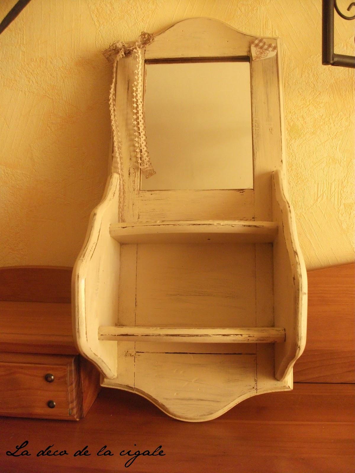 la d co de la cigale petite console bois. Black Bedroom Furniture Sets. Home Design Ideas