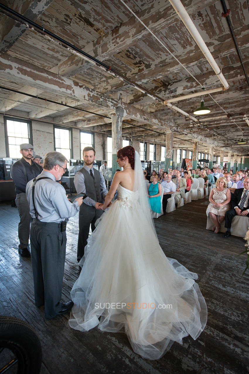 Ford Piquette Plant Wedding Photography Detroit - Sudeep Studio.com