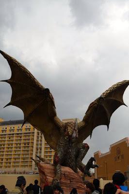 Dragon Statue at Universal Studios Japan Osaka