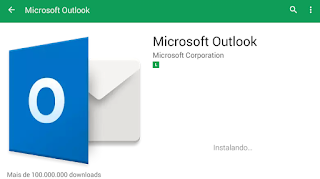 Como fazer download do Outlook Hotmail