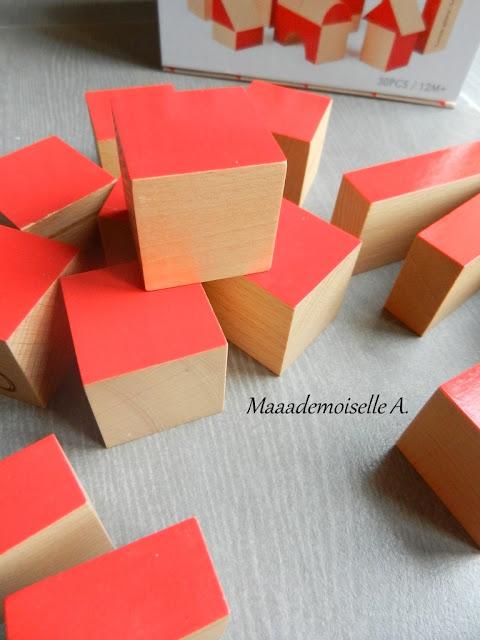 || Cubes en bois Blocks Hape (Présentation & Avis)