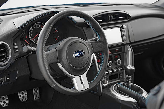 Instrument panel for 2016 Subaru Series.HyperBlue