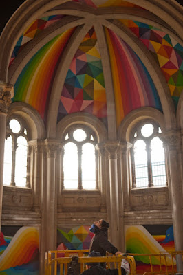 Green Pear Diaries, arte, Kaos Temple, Okuda San Miguel, La Iglesia del Skate, Llanera, Asturias