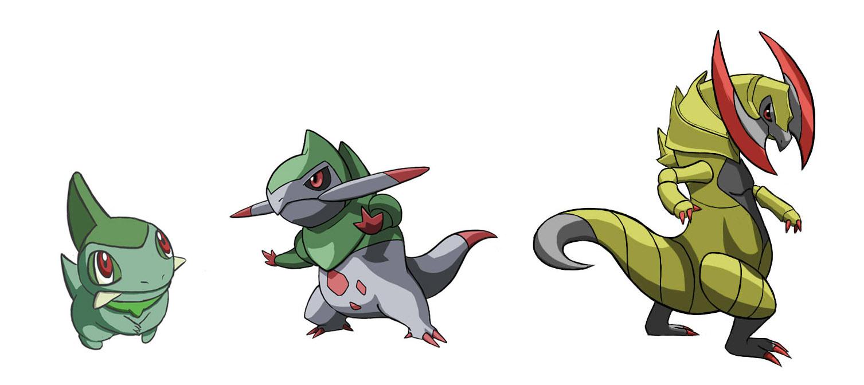 Image Gallery haxorus evolution