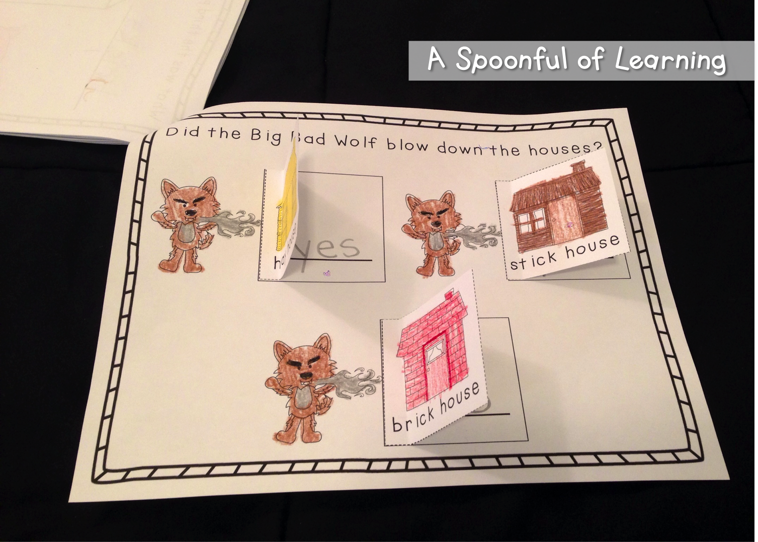 A Spoonful Of Learning Three Little Pigs