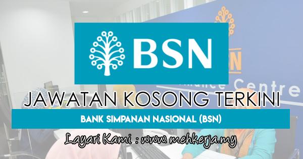 Jawatan Kosong Terkini 2018 di Bank Simpanan Nasional