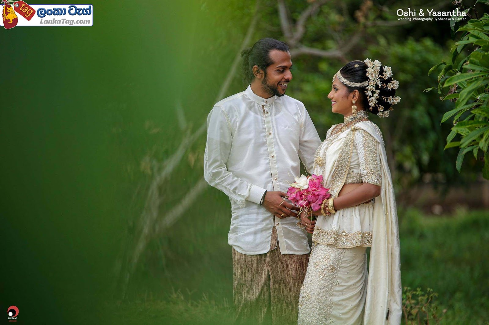 sri lankan wedding dress  12
