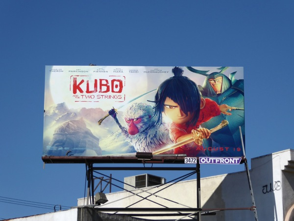 Kubo and Two Strings film billboard