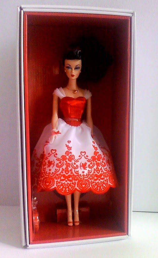 CUPID´S KISSES, HOLIDAY HOSTESS COLLECTION BARBIE DOLL
