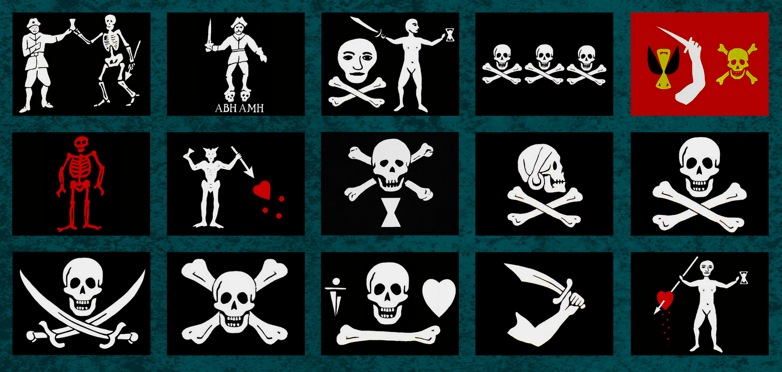 the surly diver: Inspiration: Pirate Flags