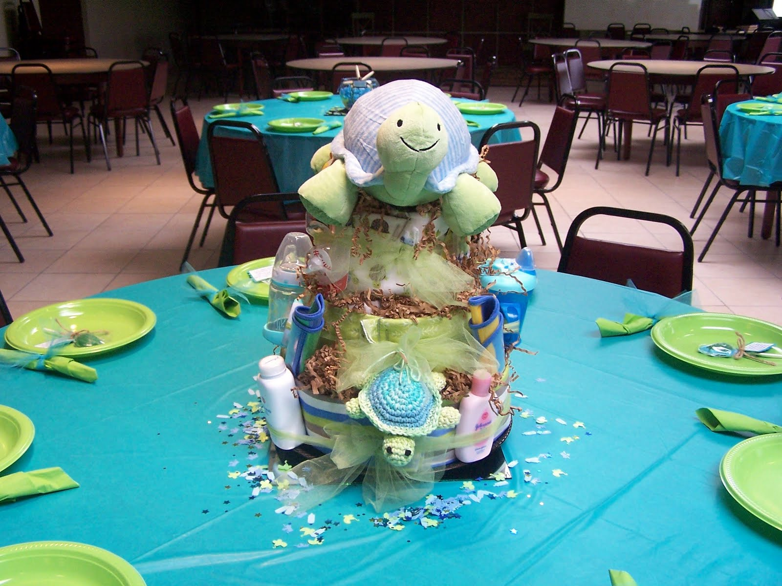 "The Story of Us: My ""Sea Turtle"" Themed Baby Shower"