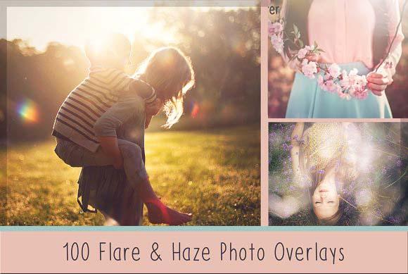 100+ Sun Flare & Haze Overlays