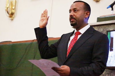 Ethiopia installs new PM Abiy Ahmed who reaches out to opposition and Eritrea