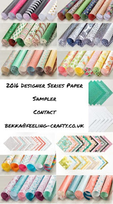 Sampler Packs of all the new Stampin' Up! UK Papers available to buy here - join a paper share