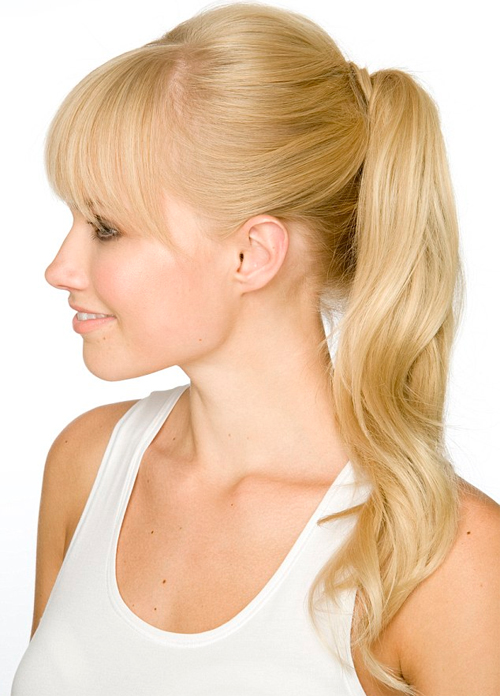 peinado cola alta