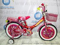 Sepeda Anak United My Music 16 Inci Pink
