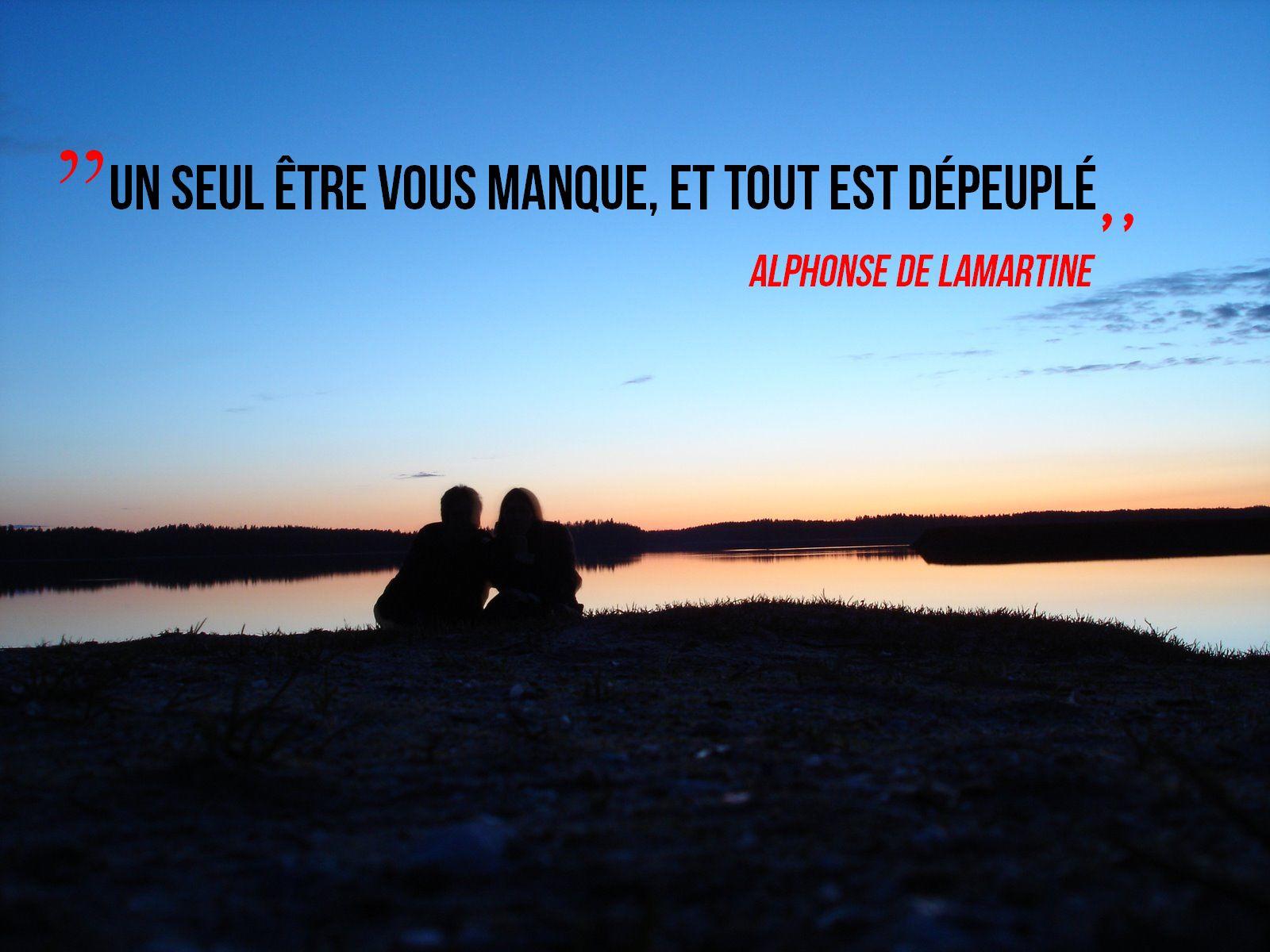 Image De Citation Citation Un Etre Vous Manque Et Tout Est Depeuple