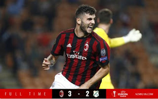 AC Milan vs Rijeka 3-2 Highlights & Goals VIDEO