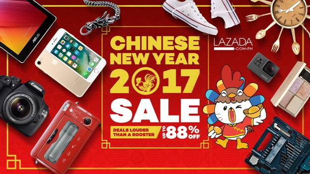 Lazada Philippines Chinese New Year 2017 Sale