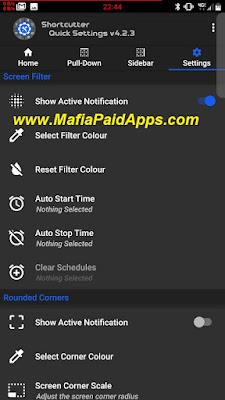 Shortcutter Quick Settings & Sidebar Premium Apk MafiaPaidApps