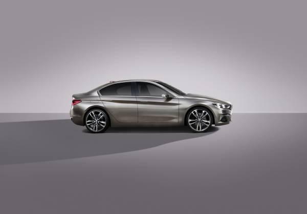 P90204825 lowRes BMW Concept Compact sedan ή μήπως σειρά 1 sedan; BMW, BMW Concept