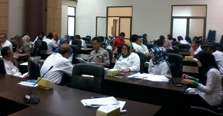 Agen Perubahan Reformasi Birokrasi Pemerintah Kota Padang Gelar Rapat