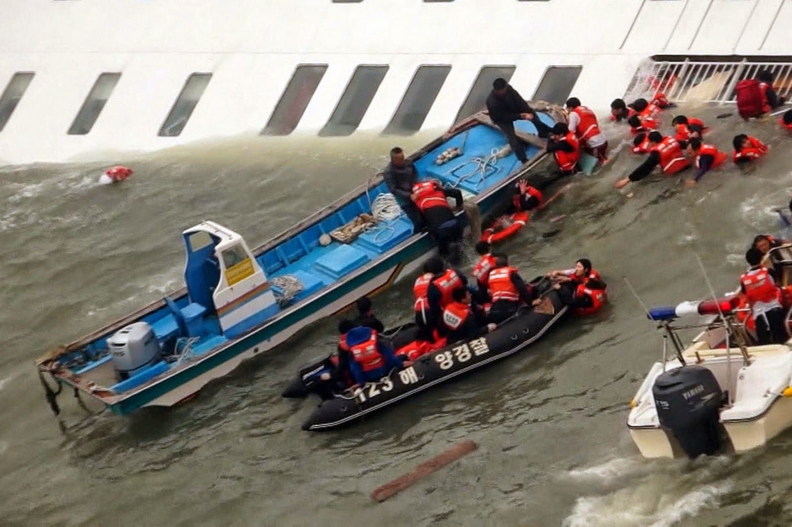 Search continues for missing passengers of capsized South Korea ship