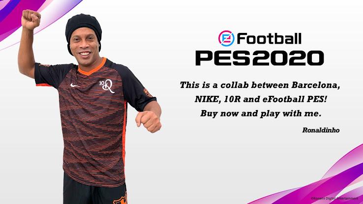 Nike x FC Barcelona x Ronaldinho PES 2020 Kit Revealed