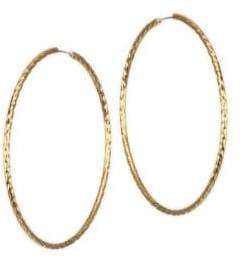 Jules Smith Electra Goldtone Hoops