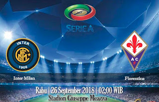Prediksi Inter Milan vs Fiorentina 26 September 2018