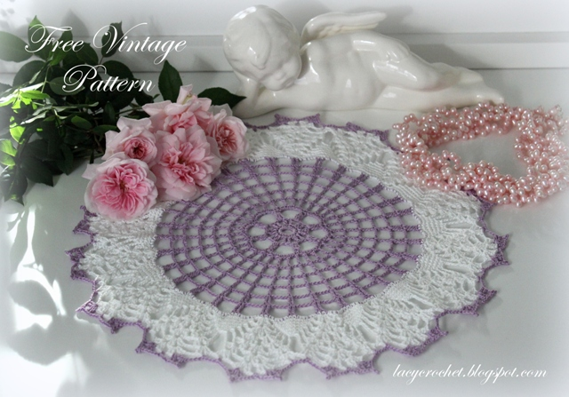 Lacy Crochet Free Doily Patterns