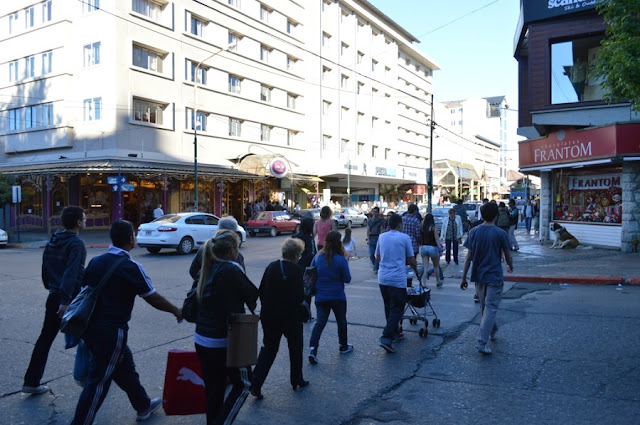 Estrutura da Rua Mitre em Bariloche