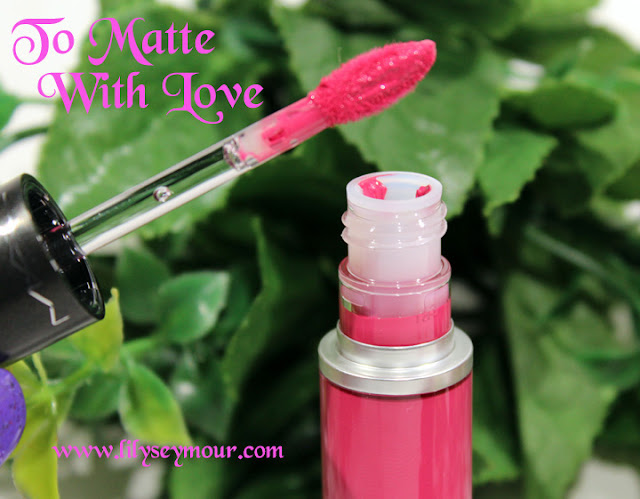 Mac To Matte With Love Liquid Lip Color