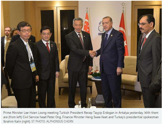 If Only Singaporeans Stopped To Think Singapore And Turkey Sign