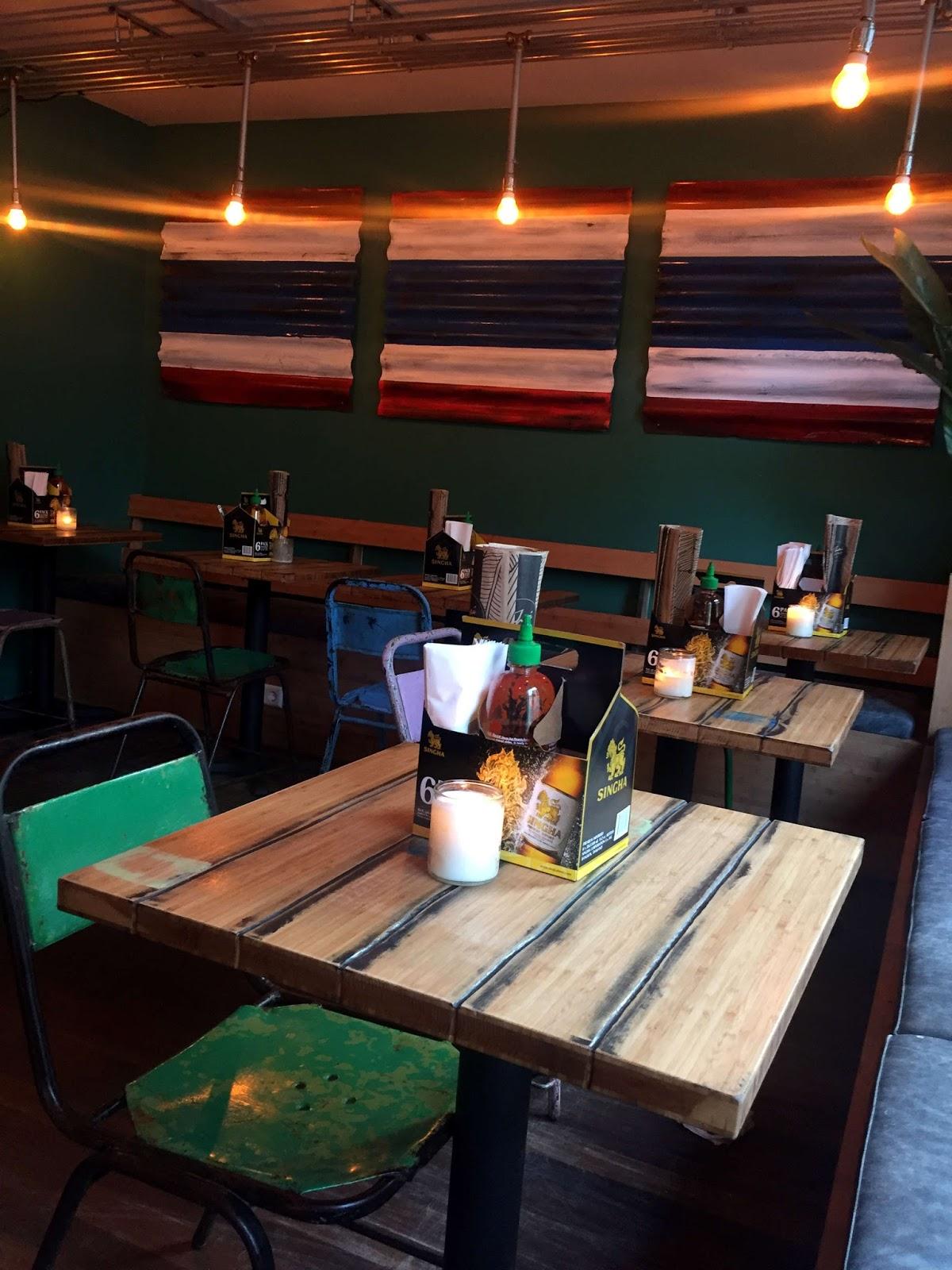 Stitch & Bear - Soi74 Thai Food Cafe - Interior