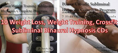 weight training, weight loss, weight lifting, bodybuilding, crossfit, weightloss  hypnosis binaural audio cds