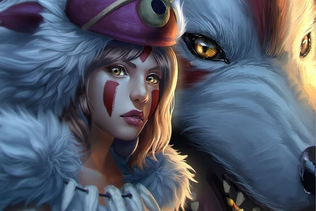 Princess Mononoke Wallpaper For Android and iPhone | Mobile