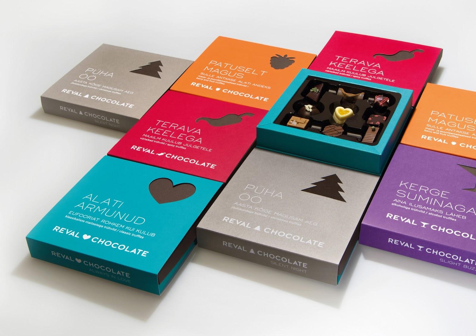 design chocolate box
