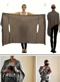Tek Parça Kumaştan Değişik Elbise Yapımı